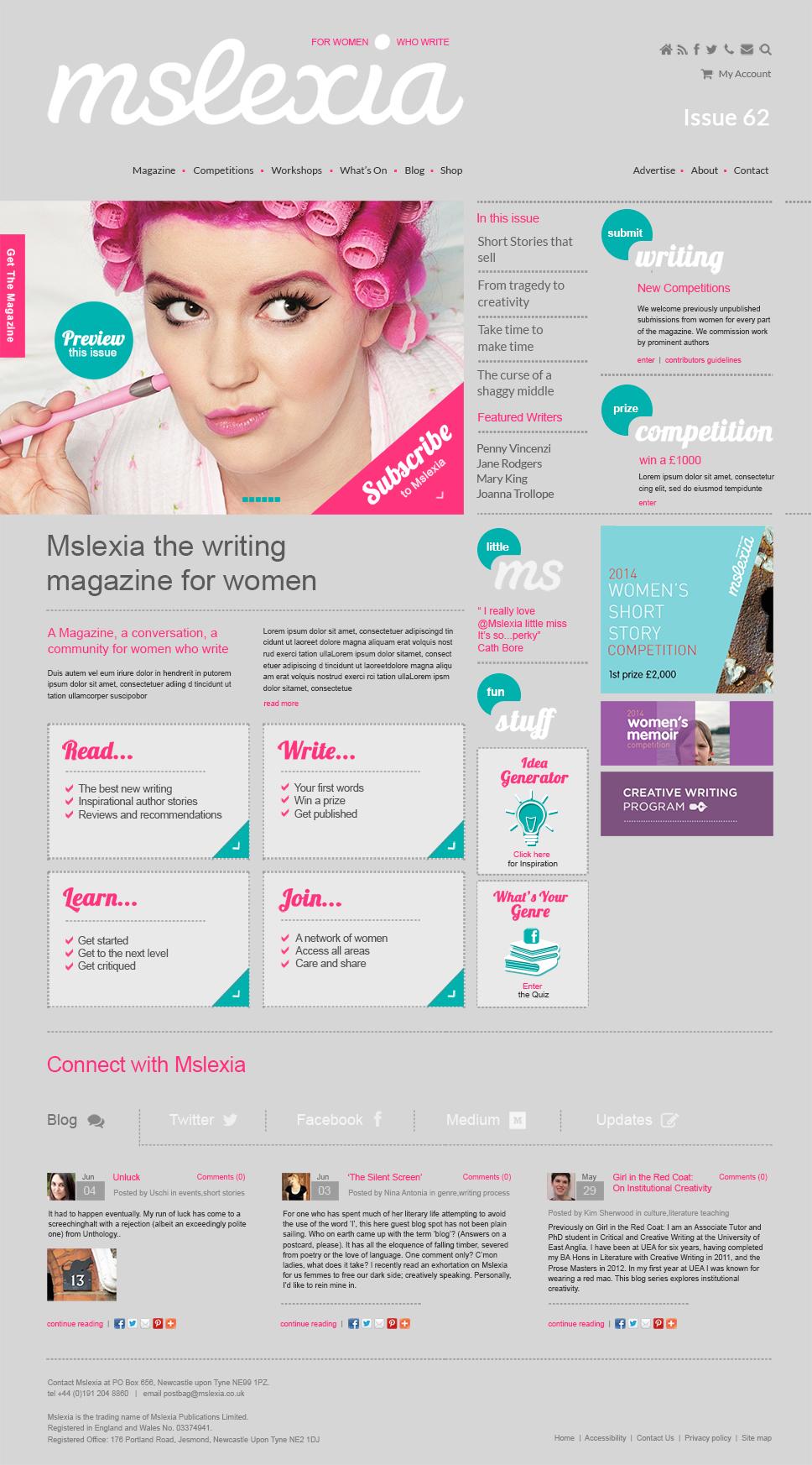 e-commerce & community website