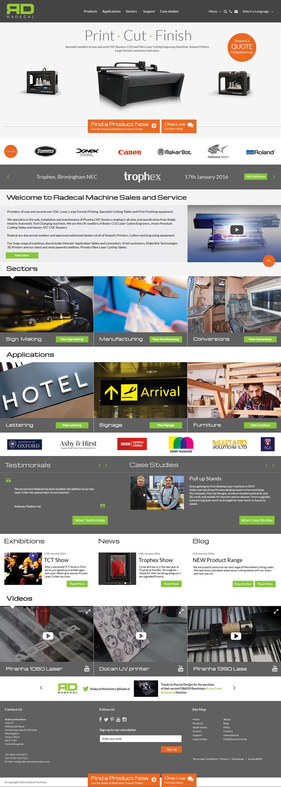 promotional website