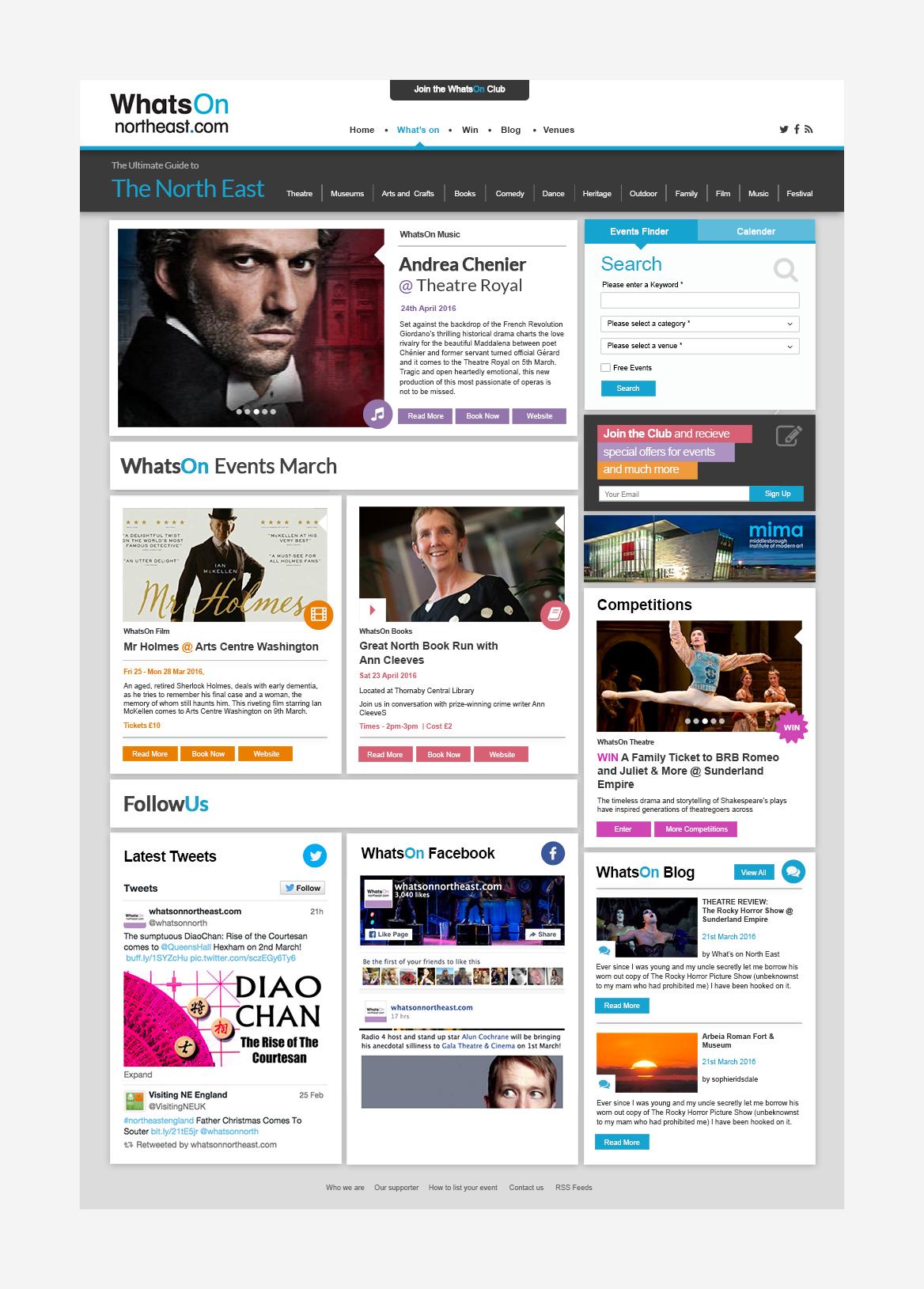 cultural portal website