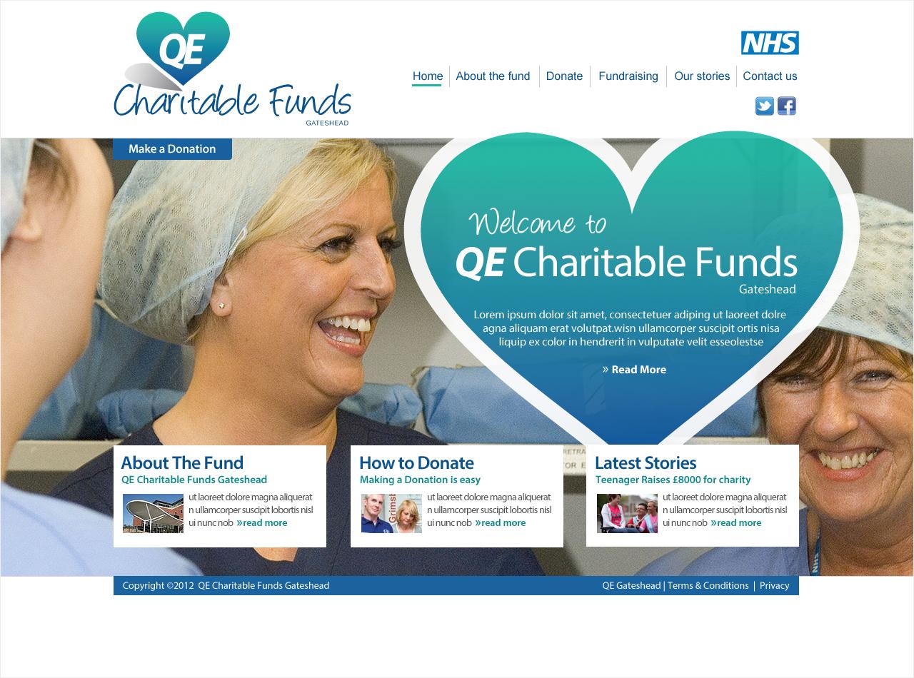 hospital & charitable funds websites